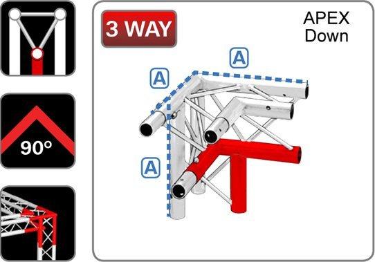 trilite-junction_triangular_TR-J3-1L