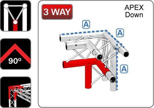 trilite-junction_triangular_TR-J3-1R