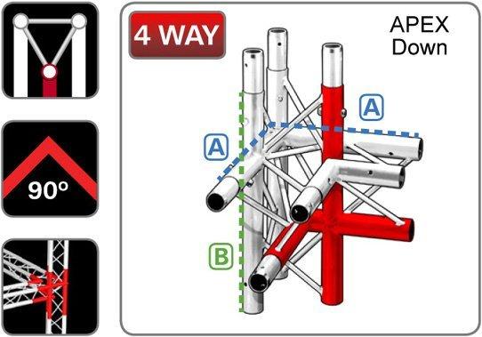 trilite-junction_triangular_TR-J4-2L