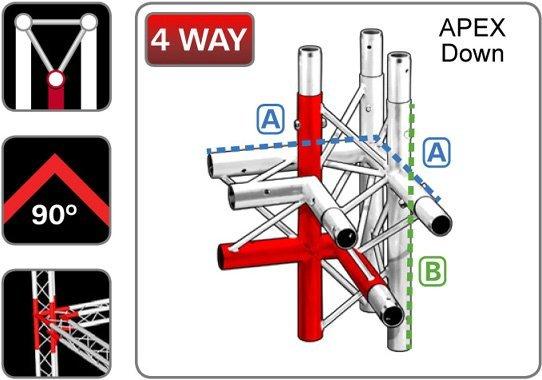 trilite-junction_triangular_TR-J4-2R