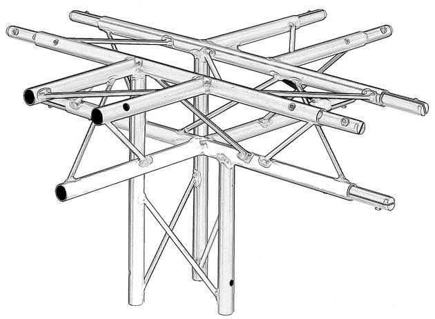 5 Way Triangular Junctions