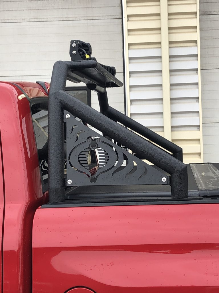 Custom Truck Rack for a Toyota Tundra