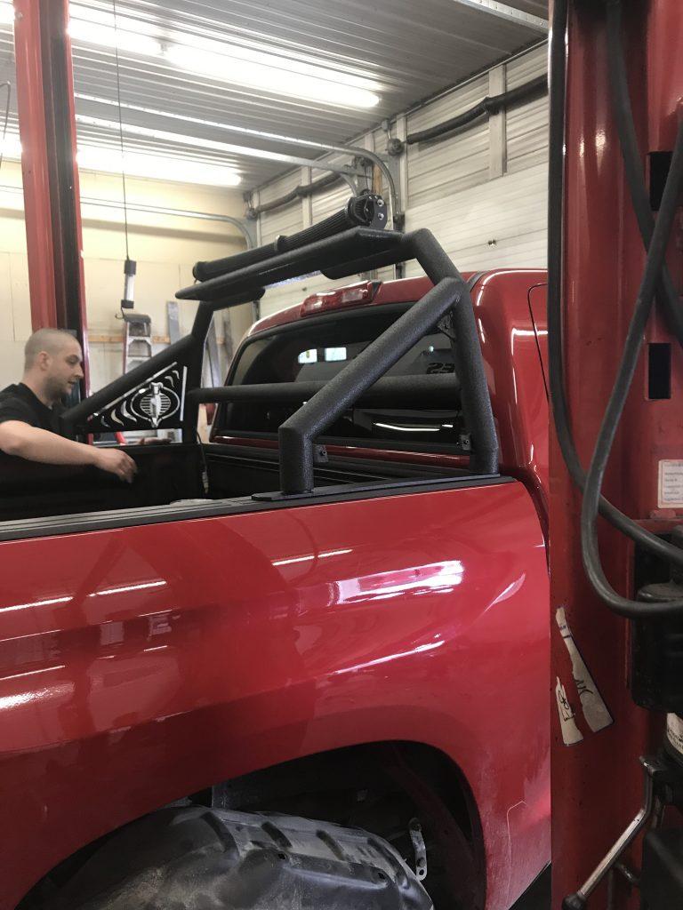 Trilite Custom Truck Rack 1 768x1024 - Custom Truck Rack for a Toyota Tundra