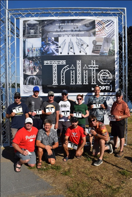 trilite custom truss k2o start finish gate - Trilite sponsored the 2018 K2O Paddling Race