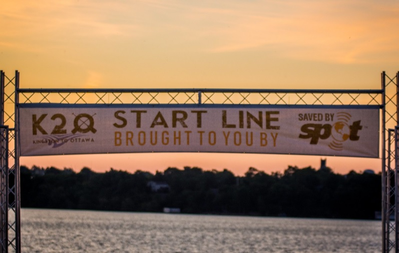 trilite start gate k20 race - Trilite sponsored the 2018 K2O Paddling Race